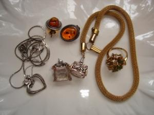 Costume jewelry galore
